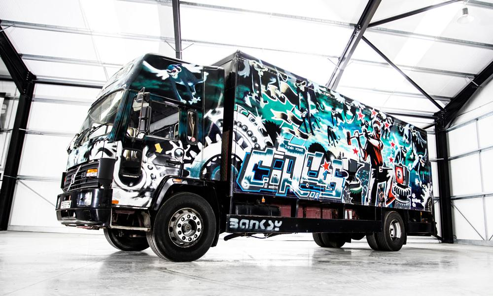 photo credit /Banksy Turbo Zone Truck