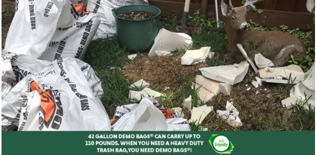 Use Demo Bags® – Save The Environment & Trash Out with Ease!