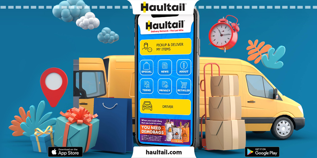 Hassle Free Pickup & Delivery Service By Haultail®