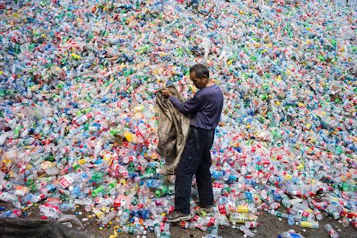 10. Plastic Bottle Waste