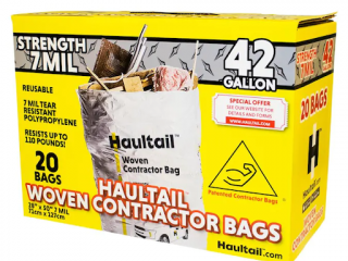 6 Creative Uses of Woven Contractor Trash Bags