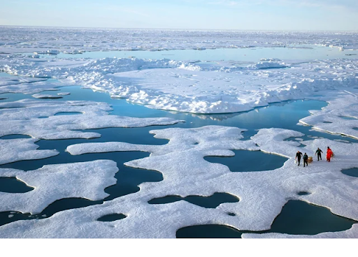 9. Glaciers That Are Melting